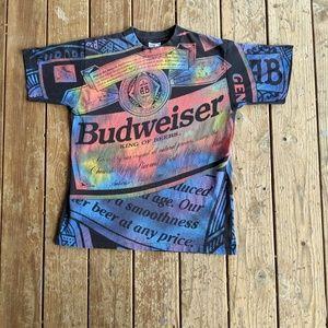 Vintage 1994 Single Stitch Budweiser T-shirt Large